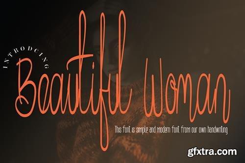 Beautiful Woman Font