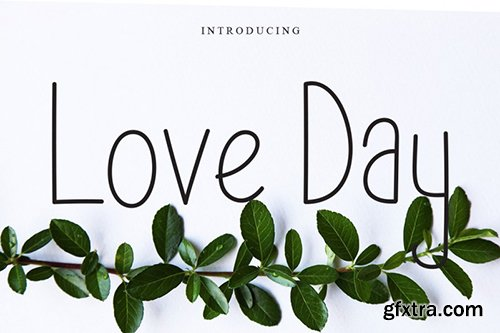 Love Day Font