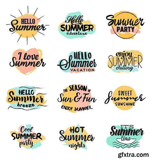 Handmade summer designs