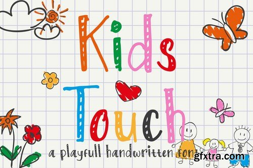 Kids Touch - Natural Handwritten Font