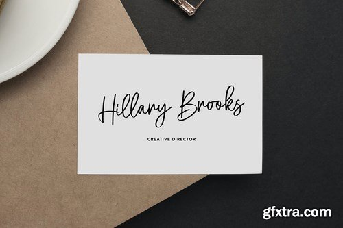 Melly Hailey Handwritten Font