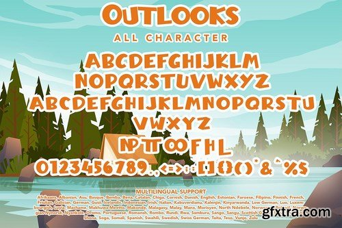 Outlooks - Chunky Handwritten Font