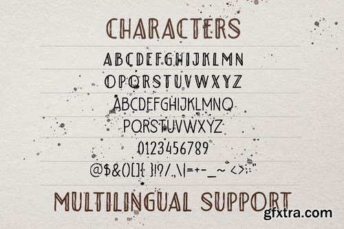 Riotous - Brush Font