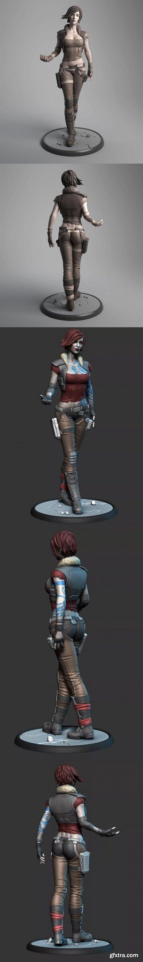 Lilith - Borderlands - 3D Print Model