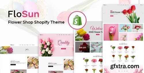 ThemeForest - Flosun v1.0.0 - Flower Shop Shopify Theme - 31670985