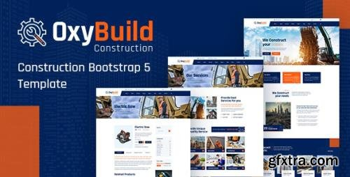 ThemeForest - OxyBuild v1.0 - Construction Bootstrap 5 Template - 29994031