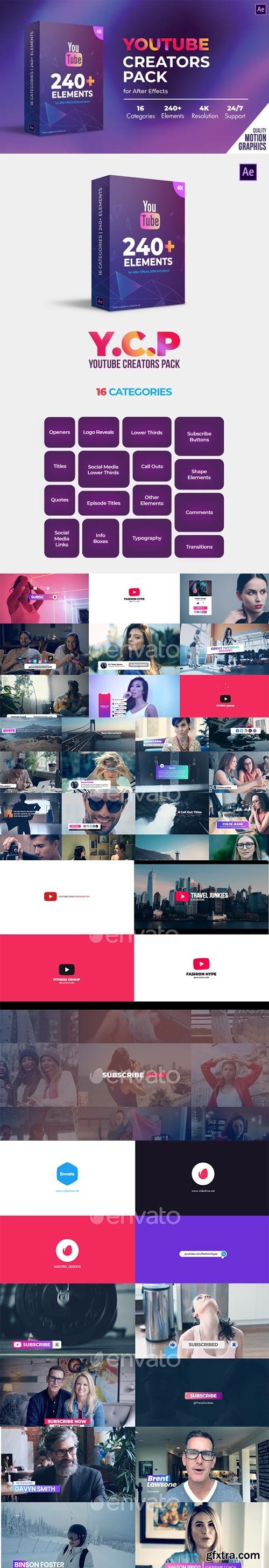 Videohive - Youtube Creators Pack - 31232789