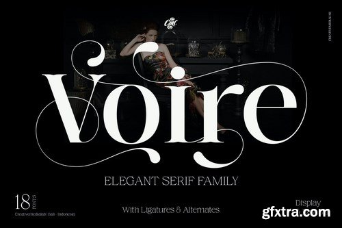 Voire - Elegant Beauty Serif Family