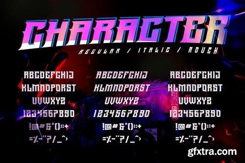 GRVS-Averse Font