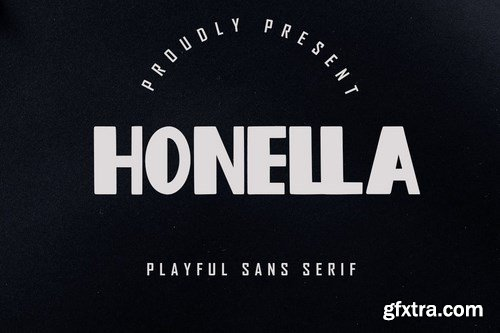 Honella - Playful Sans Serif