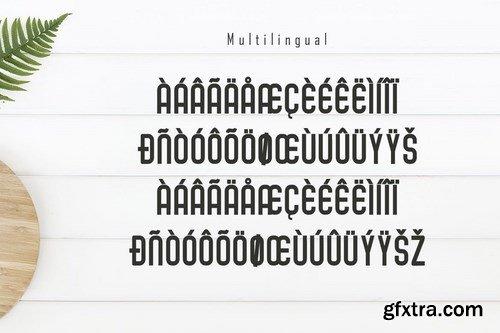 Cafiloser - Modern Sans Serif