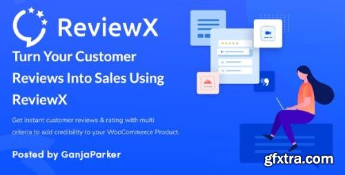ReviewX Pro v1.1.9 - Advanced Multi-Criteria Rating Reviews for WordPress & WooCommerce - NULLED