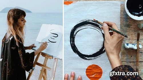 Fast & Fun Boosting of Creative Flow: Simple Experiments with Ink / New look on Asian Materials