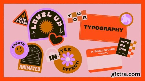 Level Up Your Typography: Creating Animated Stickers in After Effects