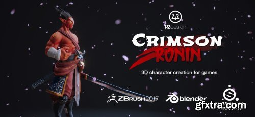 FlippedNormals – Crimson Ronin – PBR Character Creation for Games