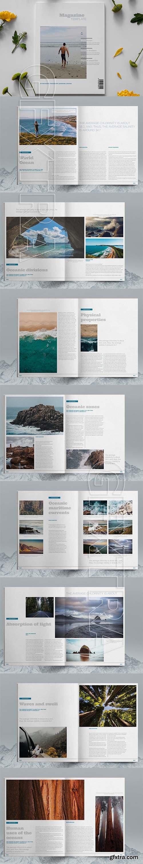 CreativeMarket - Lifestyle Magazine Layout Template 6083791