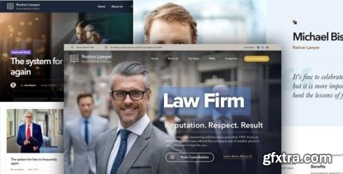 ThemeForest - Lawyer v2.1.3 - Law firm and Legal Attorney WordPress Theme - 19477089