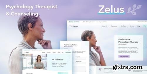ThemeForest - Zelus v1.3.5 - WordPress Theme for Psychology Counseling - 21659755