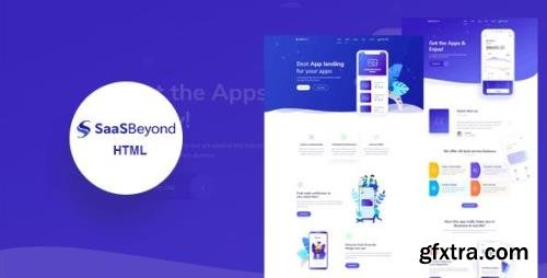 ThemeForest - SassBeyond v1.0 - Sass & Software Landing Page Template - 24133405