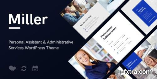 ThemeForest - Miller v1.1.1 - Personal Assistant & Administrative Services WordPress Theme - 19992242