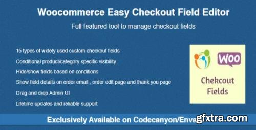 CodeCanyon - Woocommerce Easy Checkout Field Editor v2.2.6 - 9799777