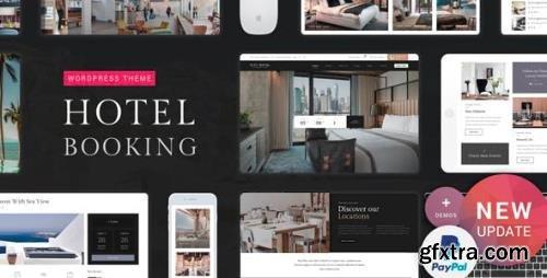 ThemeForest - Hotel Booking v2.1 - WordPress Theme - 20522335