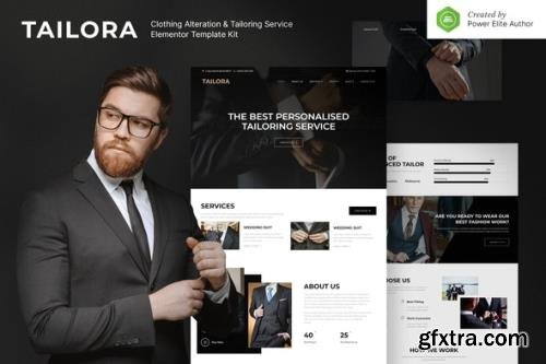 ThemeForest - Tailora v1.0.0 Clothing Alteration & Tailoring Service Elementor Template Kit - 31749165
