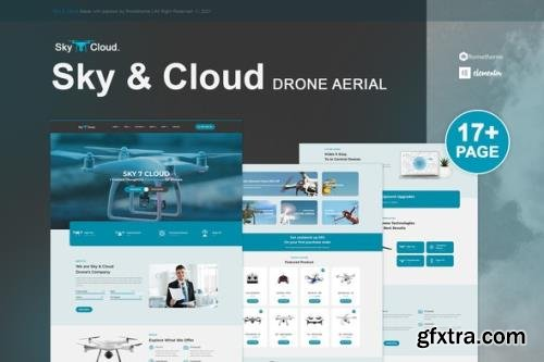 ThemeForest - Sky&Cloud v1.0.3 - Drone Aerial Photography & Videography Elementor Template Kit - 31644300