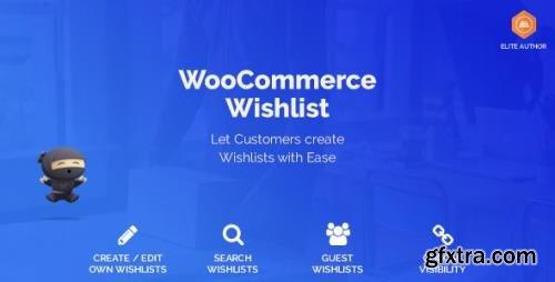 CodeCanyon - WooCommerce Wishlist v1.1.7 - 22003411