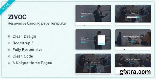 ThemeForest - Zivoc v1.0.0 - Bootstrap 5 Landing Page Template - 31643857