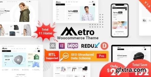 ThemeForest - Metro v1.8.3 - Minimal WooCommerce WordPress Theme - 24204259