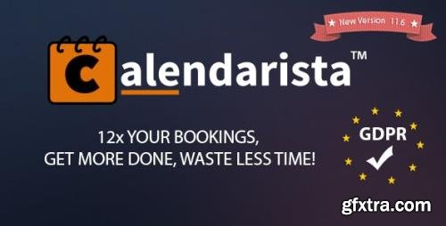 CodeCanyon - Calendarista Premium v13.4 - WP Reservation Booking & Appointment Booking Plugin & Schedule Booking System - 21315966