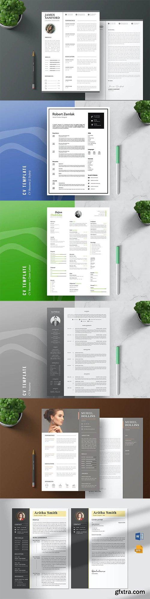 CV Resume Templates Pack