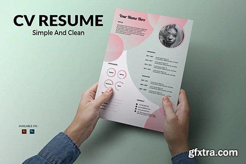 CV Resume Gradient