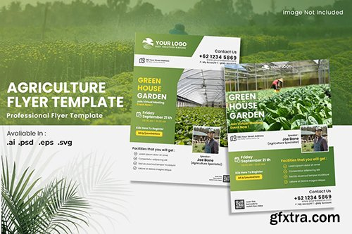 Agriculture Promotion Flyer Template