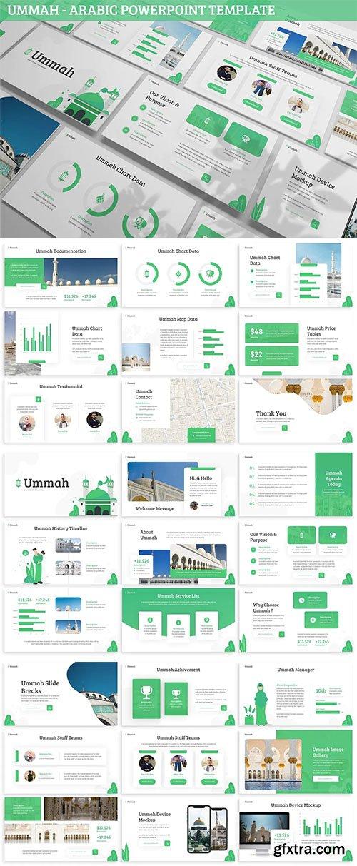 Ummah - Arabic Powerpoint Template
