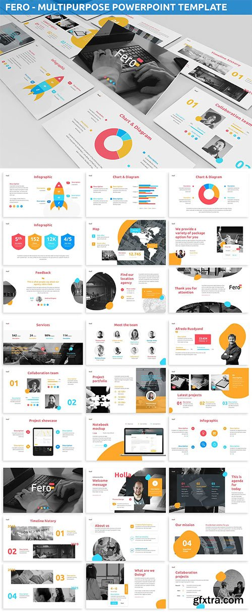 Fero - Multipurpose Powerpoint Template