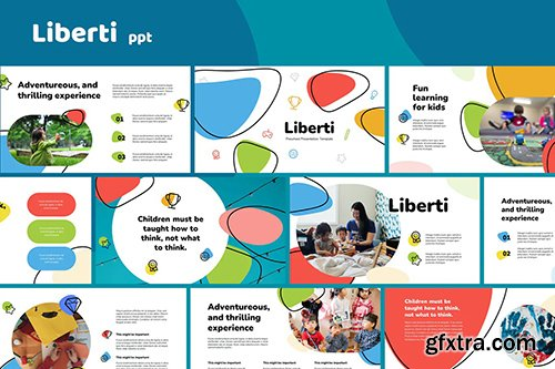 Liberti - Preschool Template Powerpoint