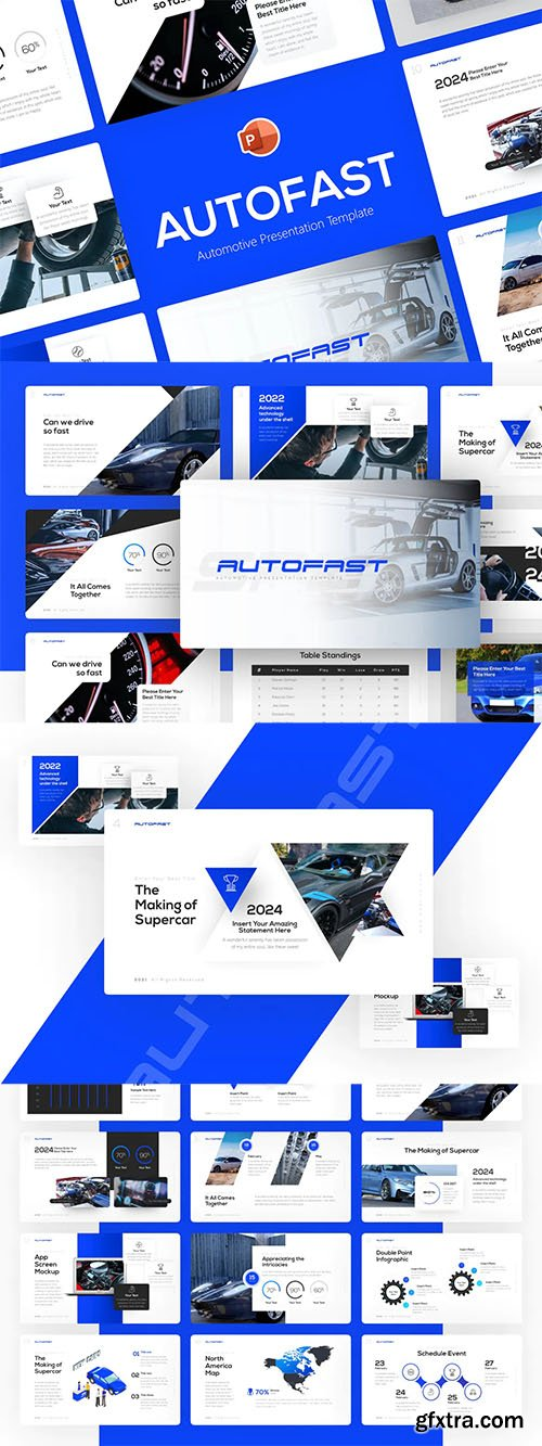 Autofast Automotive Powerpoint Template