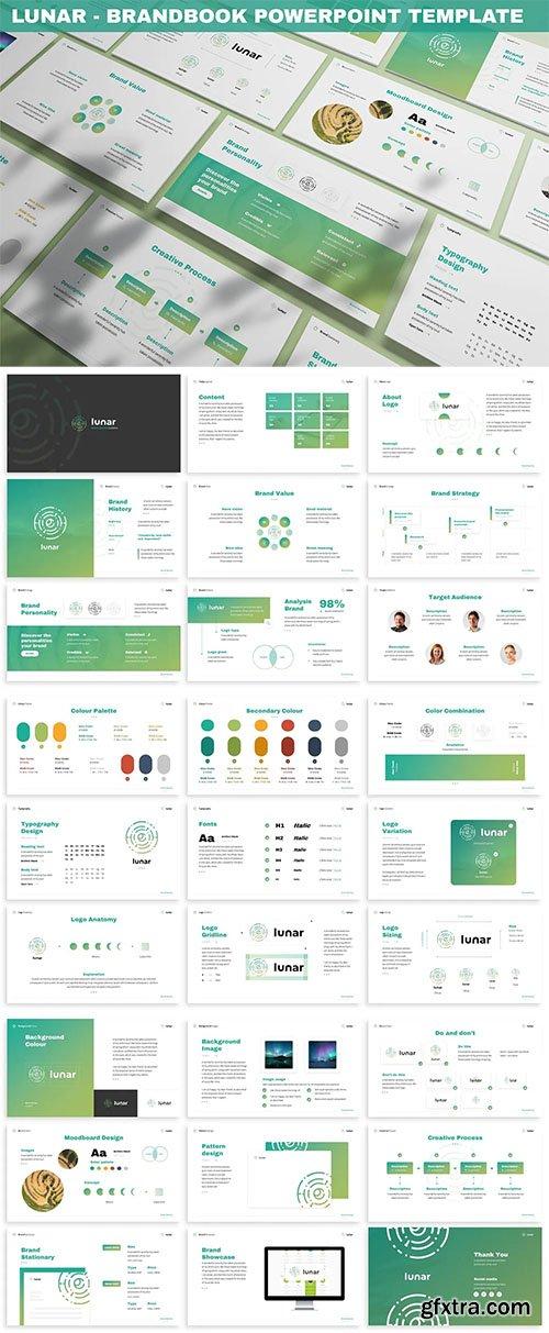 Lunar - Brandbook Powerpoint Template