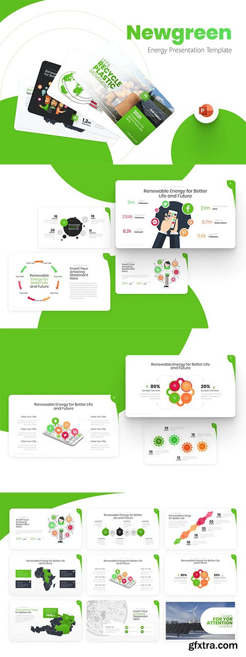 Newgreen Energy Powerpoint Template