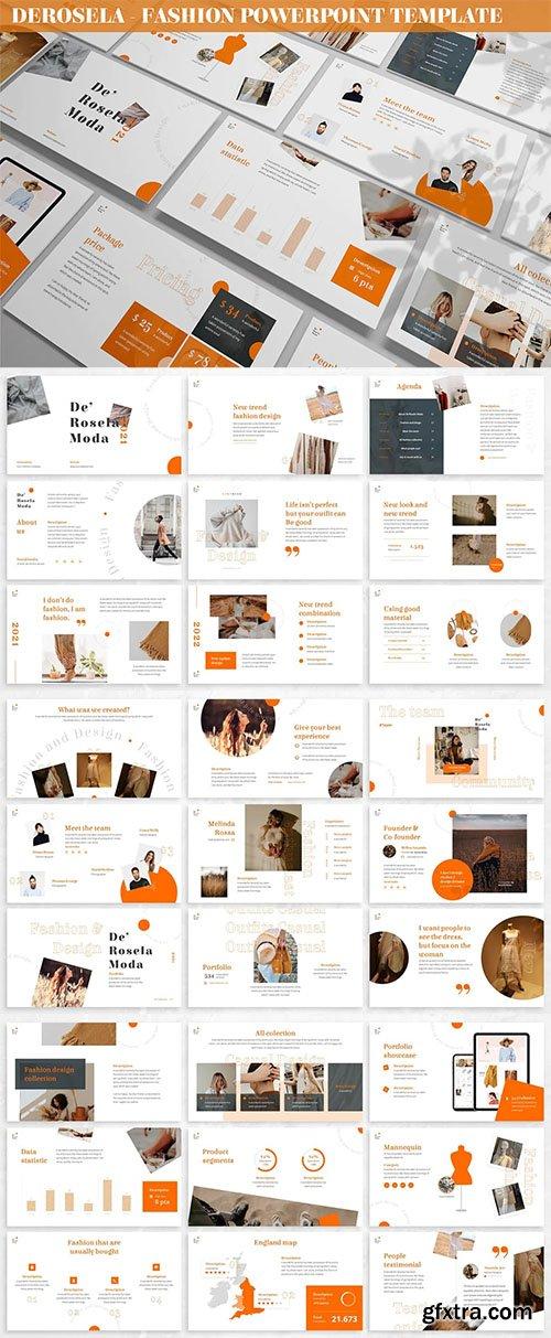 DeRosela - Fashion Powerpoint Template