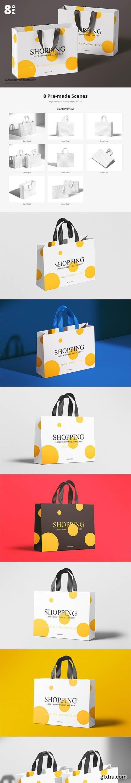 CreativeMarket - Large Shopping Bag Mockup 6048791