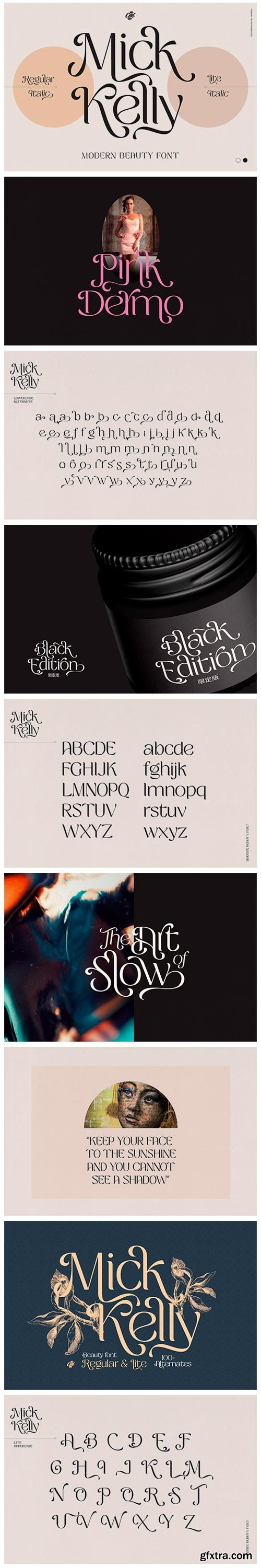 CM - Mick Kelly - Beauty Font 6089997