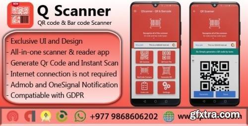 CodeCanyon - QScanner v1.3 - QR Barcode Pro - 22550108