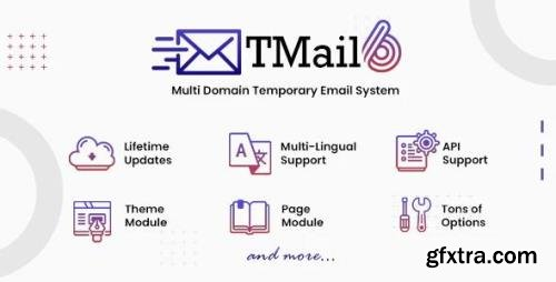 CodeCanyon - TMail v6.2 - Multi Domain Temporary Email System - 20177819 - NULLED