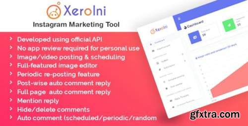CodeCanyon - XeroIni v1.0 - Instagram Post Scheduler & Marketing Tool - 30899763 - NULLED
