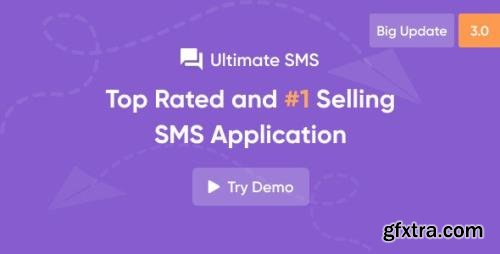 CodeCanyon - Ultimate SMS v3.0 - Bulk SMS Application For Marketing - 20062631 - NULLED