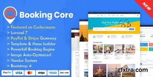 CodeCanyon - Booking Core v1.9.3 - Ultimate Booking System - 24043972