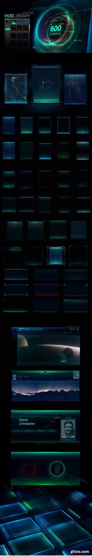 Videohive - HUD Library V2.1 - 21100353